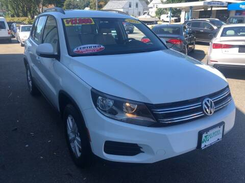 2017 Volkswagen Tiguan for sale at MURPHY BROTHERS INC in North Weymouth MA