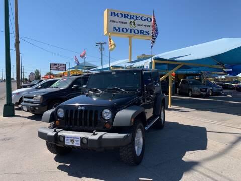 2008 Jeep Wrangler for sale at Borrego Motors in El Paso TX