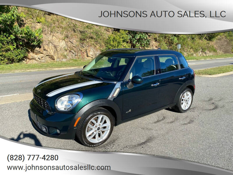 2011 MINI Cooper Countryman for sale at Johnsons Auto Sales, LLC in Marshall NC