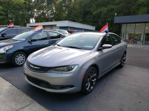 2016 Chrysler 200 for sale at Curtis Lewis Motor Co in Rockmart GA
