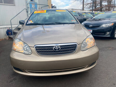 2005 Toyota Corolla for sale at Elmora Auto Sales in Elizabeth NJ