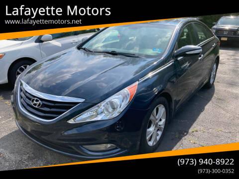 2013 Hyundai Sonata for sale at Lafayette Motors in Lafayette NJ