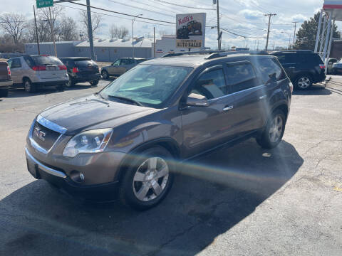 2012 GMC Acadia for sale at Kellis Auto Sales in Columbus OH