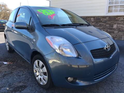 2008 Toyota Yaris for sale at No Full Coverage Auto Sales in Austell GA