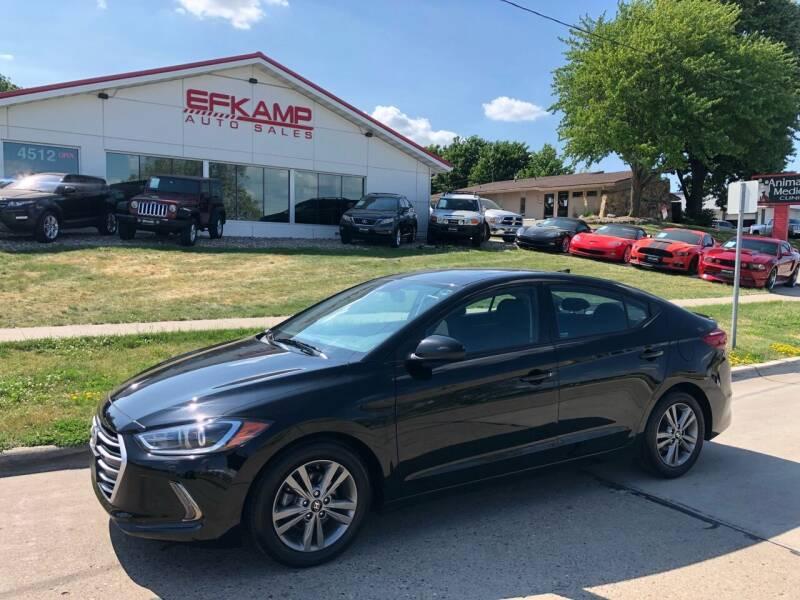 2018 Hyundai Elantra for sale at Efkamp Auto Sales LLC in Des Moines IA