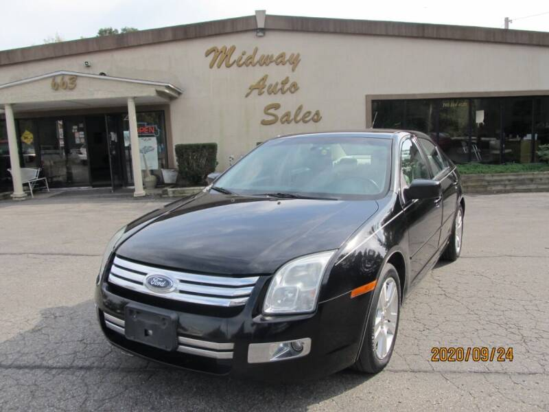 2008 Ford Fusion for sale at Mid - Way Auto Sales INC in Montgomery NY