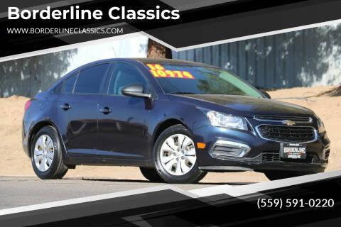 2016 Chevrolet Cruze Limited for sale at Borderline Classics in Dinuba CA