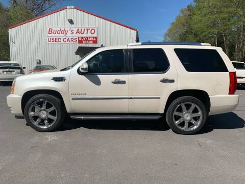 2010 Cadillac Escalade for sale at Buddy's Auto Inc in Pendleton SC