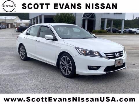 2015 Honda Accord for sale at Scott Evans Nissan in Carrollton GA