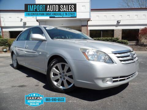2006 Toyota Avalon for sale at IMPORT AUTO SALES in Knoxville TN