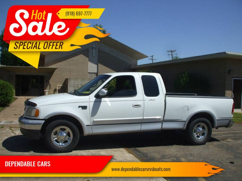 2000 Ford F-150 for sale at DEPENDABLE CARS in Mannford OK