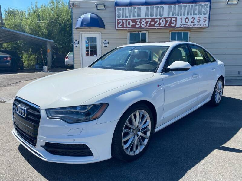 2012 Audi A6 for sale at Silver Auto Partners in San Antonio TX