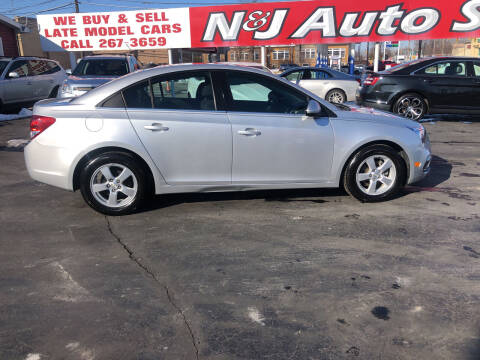 2016 Chevrolet Cruze Limited for sale at N & J Auto Sales in Warsaw IN