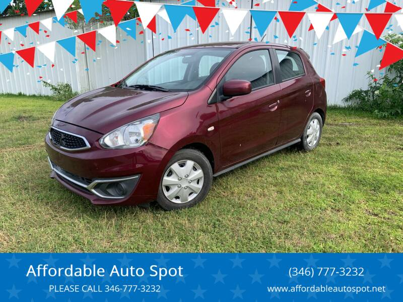 2017 Mitsubishi Mirage for sale at Affordable Auto Spot in Houston TX