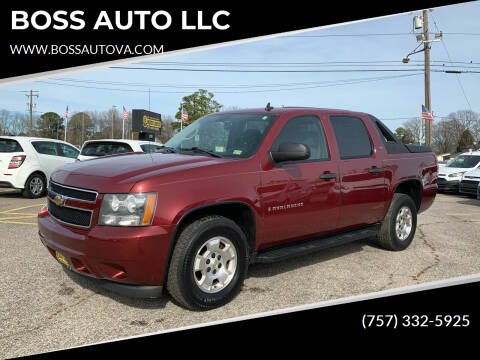 2009 Chevrolet Avalanche for sale at BOSS AUTO LLC in Norfolk VA
