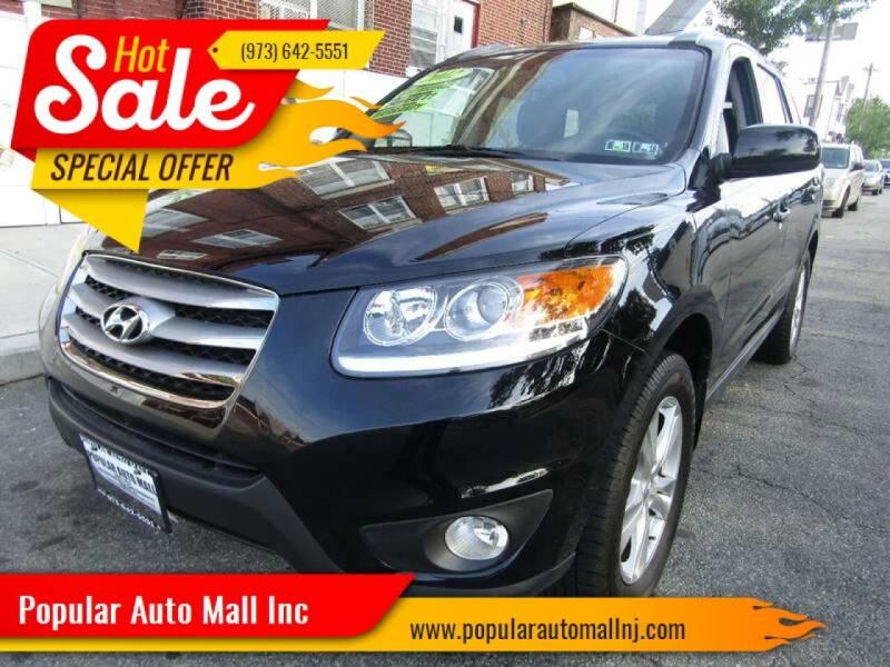 2012 Hyundai Santa Fe for sale at Popular Auto Mall Inc in Newark NJ