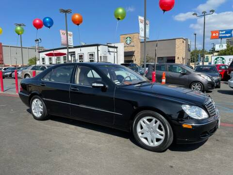 2003 Mercedes-Benz S-Class for sale at MILLENNIUM CARS in San Diego CA