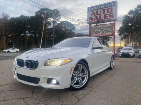 2014 BMW 5 Series for sale at Carafello's Auto Sales in Norfolk VA