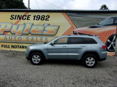 2013 Jeep Grand Cherokee for sale at Pyles Auto Sales in Kittanning PA