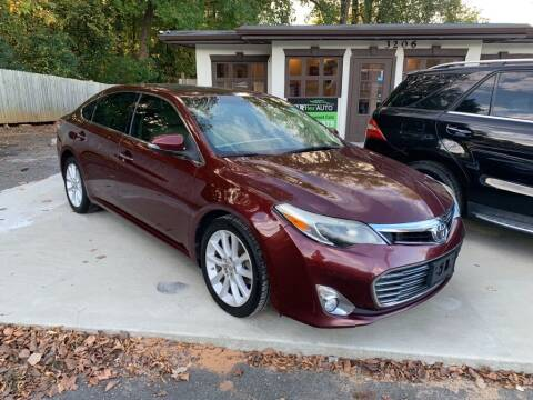 2013 Toyota Avalon for sale at Carflex Auto in Charlotte NC