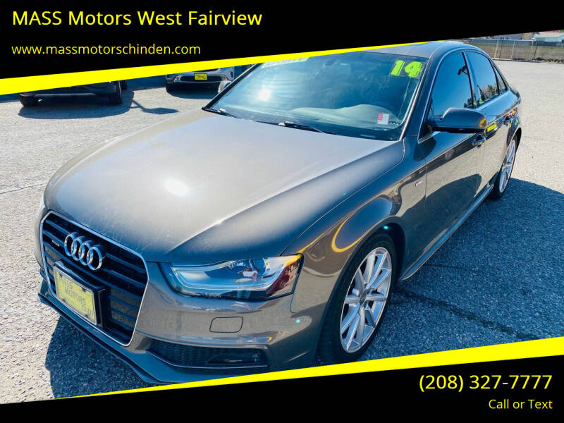 2014 Audi A4 for sale at M.A.S.S. Motors - West Fairview in Boise ID