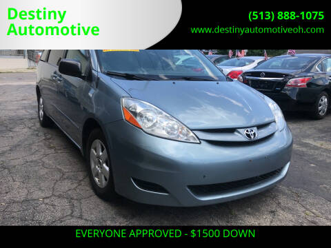 2007 Toyota Sienna for sale at DestanY AUTOMOTIVE in Hamilton OH