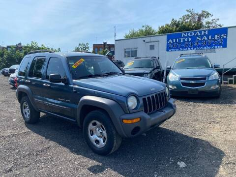 2002 Jeep Liberty for sale at Noah Auto Sales in Philadelphia PA