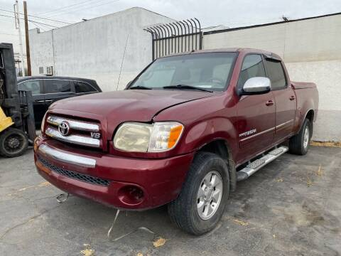 2006 Toyota Tundra Double Cab SR5 for sale at New City Auto - Parts in South El Monte CA