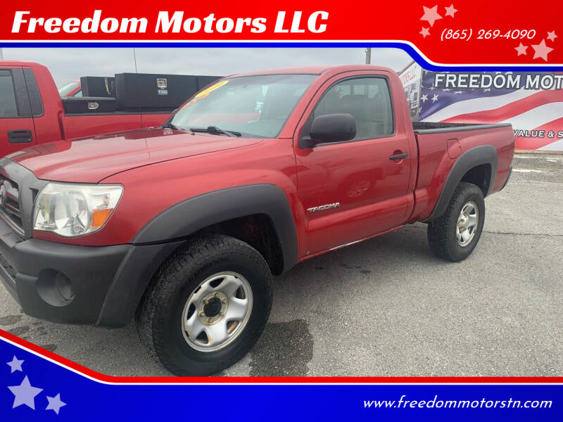 2009 Toyota Tacoma for sale at Freedom Motors LLC in Knoxville TN