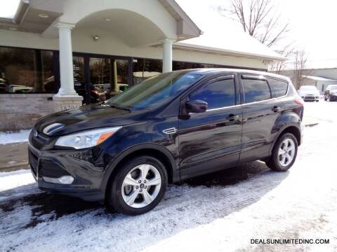 2014 Ford Escape for sale at DEALS UNLIMITED INC in Portage MI