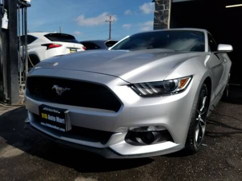 2017 Ford Mustang for sale at 916 Auto Mart ONLY $399 DOWN!!!* in Sacramento CA