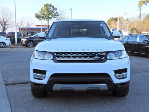 2015 Land Rover Range Rover Sport for sale at Auto Finance of Raleigh in Raleigh NC