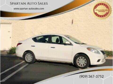 2013 Nissan Versa for sale at Spartan Auto Sales in Upland CA