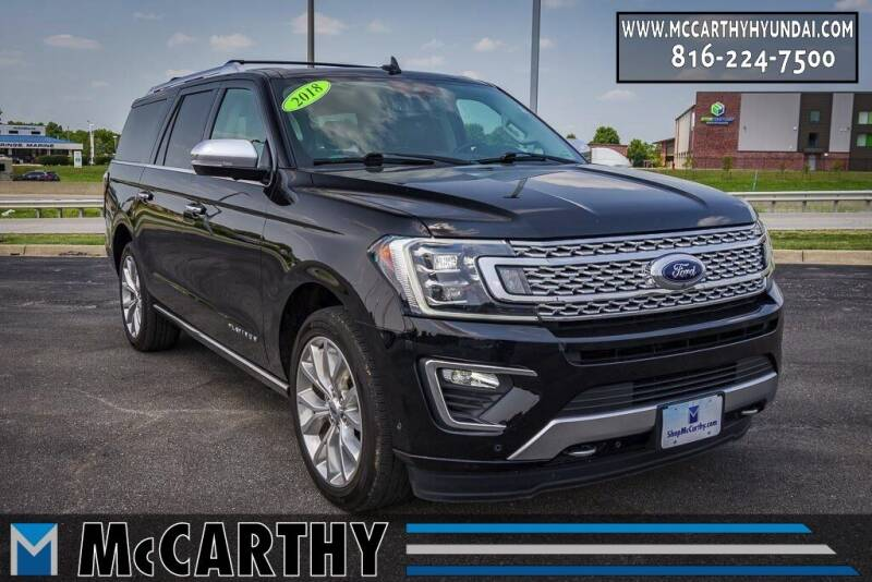 2018 Ford Expedition MAX for sale at Mr. KC Cars - McCarthy Hyundai in Blue Springs MO