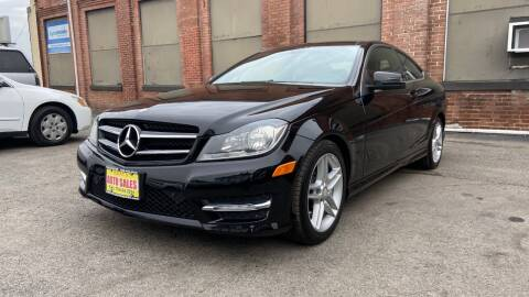 2012 Mercedes-Benz C-Class for sale at Rocky's Auto Sales in Worcester MA