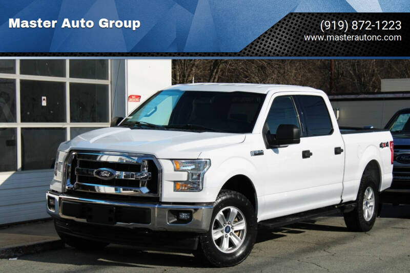2017 Ford F-150 for sale at Master Auto Group in Raleigh NC
