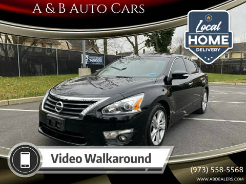 2014 Nissan Altima for sale at A & B Auto Cars in Newark NJ