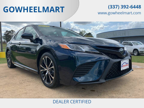 2018 Toyota Camry for sale at GOWHEELMART in Leesville LA