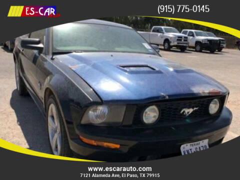2009 Ford Mustang for sale at Escar Auto in El Paso TX
