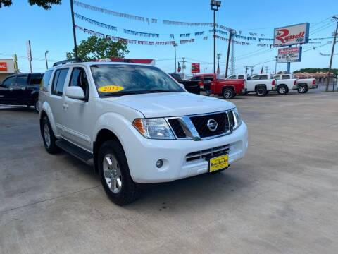2012 Nissan Pathfinder for sale at Russell Smith Auto in Fort Worth TX