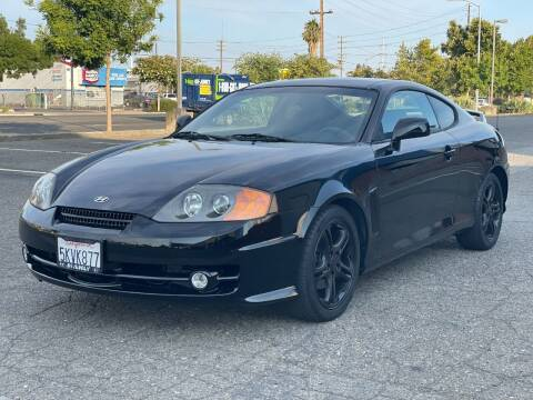 2004 Hyundai Tiburon for sale at California Auto Deals in Sacramento CA