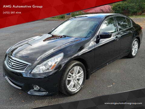 2013 Infiniti G37 Sedan for sale at AMG Automotive Group in Cumming GA