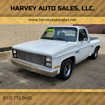 1985 GMC C/K 1500 Series for sale at Harvey Auto Sales, LLC. in Flint MI