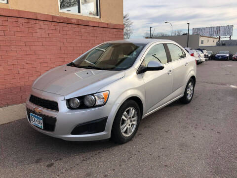 2012 Chevrolet Sonic for sale at Nice Cars Auto Inc in Minneapolis MN