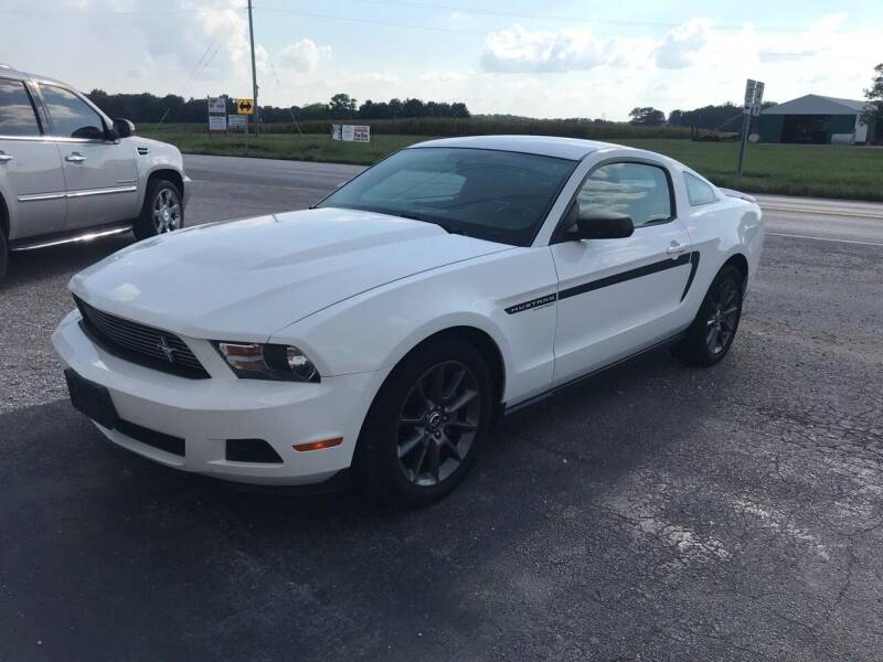 2012 Ford Mustang for sale at KESLER AUTO SALES in St. Libory IL