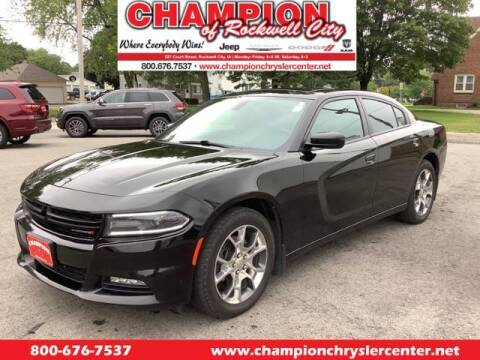 2015 Dodge Charger for sale at CHAMPION CHRYSLER CENTER in Rockwell City IA