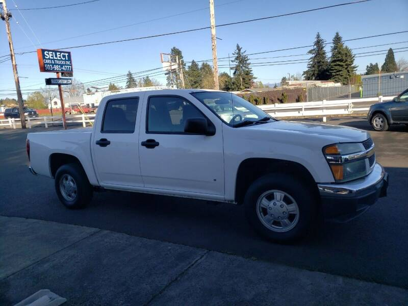 2007 Chevrolet Colorado for sale at Select Cars & Trucks Inc in Hubbard OR