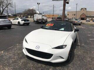2016 Mazda MX-5 Miata for sale at EAGLE AUTO SALES in Lindale TX