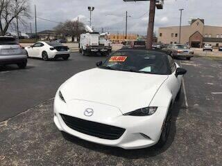2016 Mazda MX-5 Miata for sale at EAGLE AUTO SALES in Lindale TX
