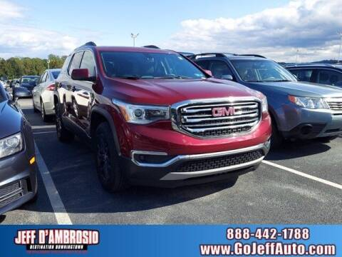 2018 GMC Acadia for sale at Jeff D'Ambrosio Auto Group in Downingtown PA